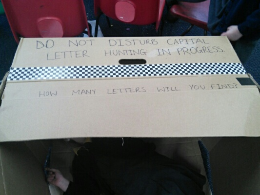 Headteacher Capital Letter