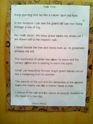 Winning poetry